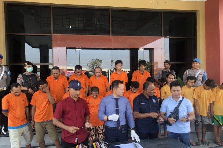 Polresta Samarinda tetapkan 16 tersangka Curanmor