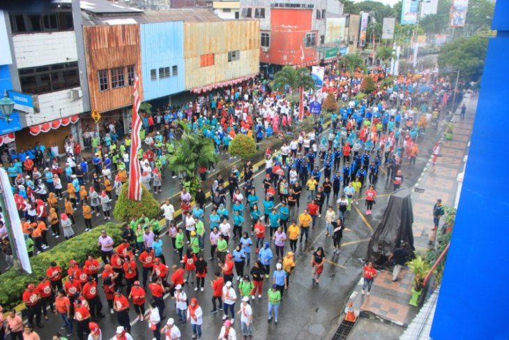 Senam goyang kaka enda tingkatkan harmonisasi warga Ambon