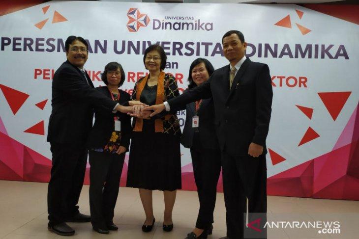 Stikom Surabaya berganti nama menjadi Universitas Dinamika