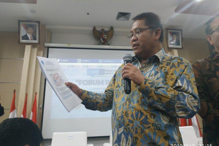 Kanal penyebar hoaks  Papua berasal dari 20 negara