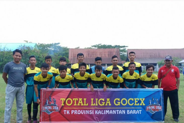 Tim U-14 Kodim 1204/Sgu runner up liga Gocex tingkat Kalbar