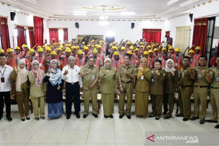 Ratusan peserta ikuti sertifikasi digelar DPUPR Batola