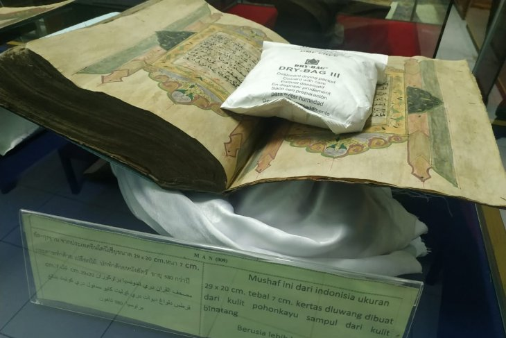 Thailand's museum houses Indonesia's oldest Quran in pristine state