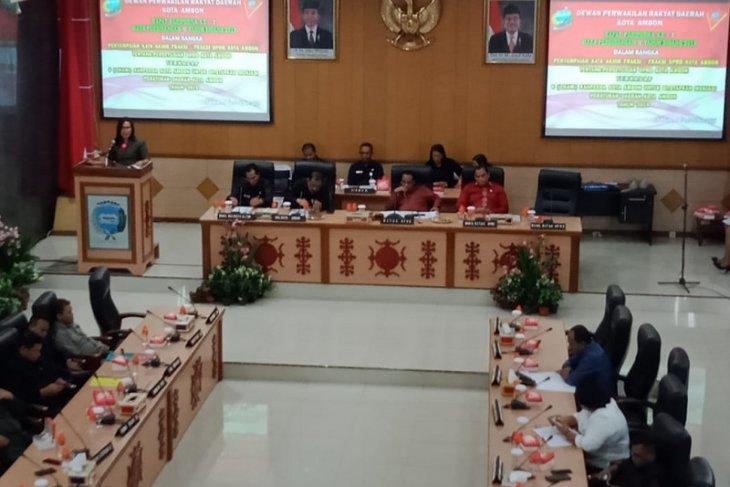 Enam Ranperda ditetapkan di akhir masa jabatan DPRD Kota Ambon 204 -2019