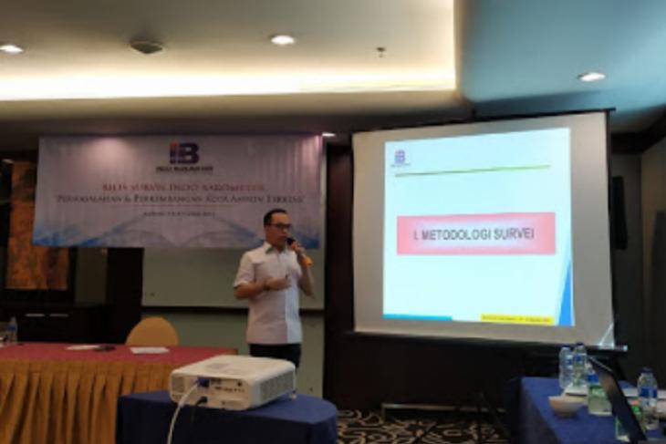 Indo Barometer   ekonomi Ambon lebih baik  463 persen