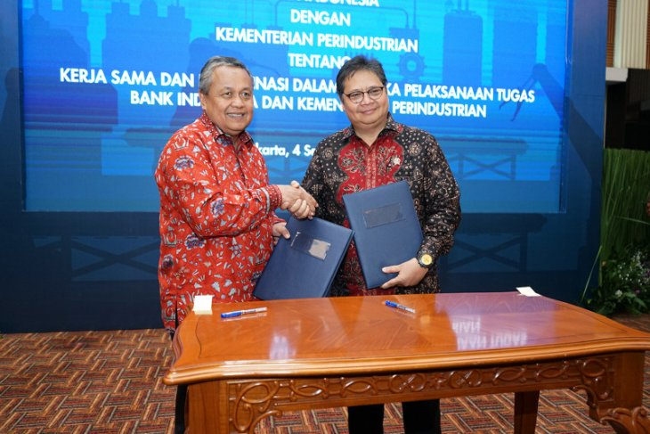 BI, Industry Ministry sign agreement on manufacturing industry