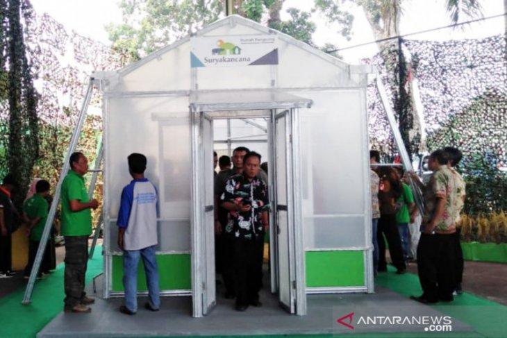 Teknologi pertanian, Korem Suryakancana luncurkan 'rumah pengering' bagi petani saat musim hujan