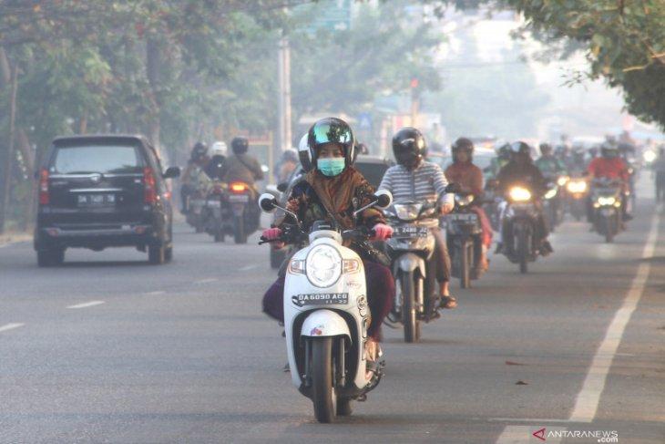 Antisipasi asap, Dinkes bagikan 10.000 masker