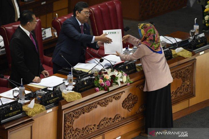 Presiden belum tahu isi usulan revisi UU KPK