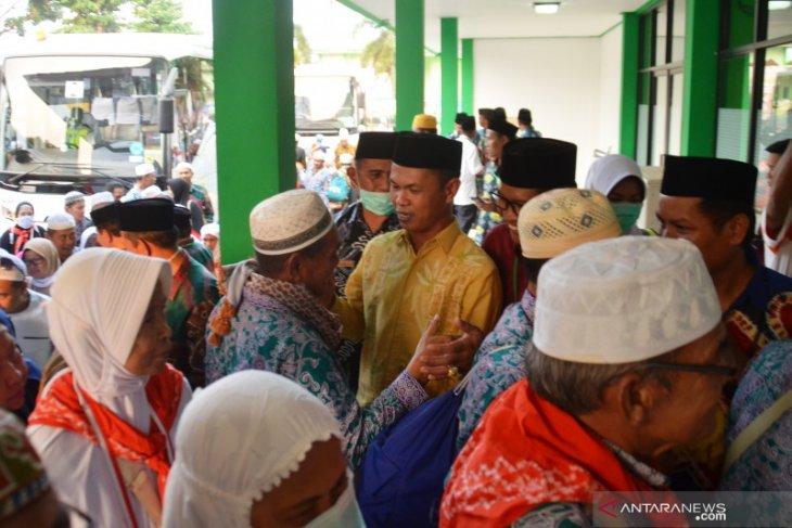 Jamaah haji Batola Jumat pagi pulang ke Marabahan