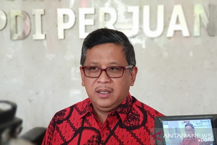 Hasto: Presiden prioritaskan menteri di kabinet dari parpol koalisi