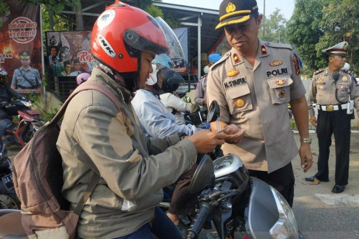 Masyarakat diminta lebih sadar keselamatan di jalan raya