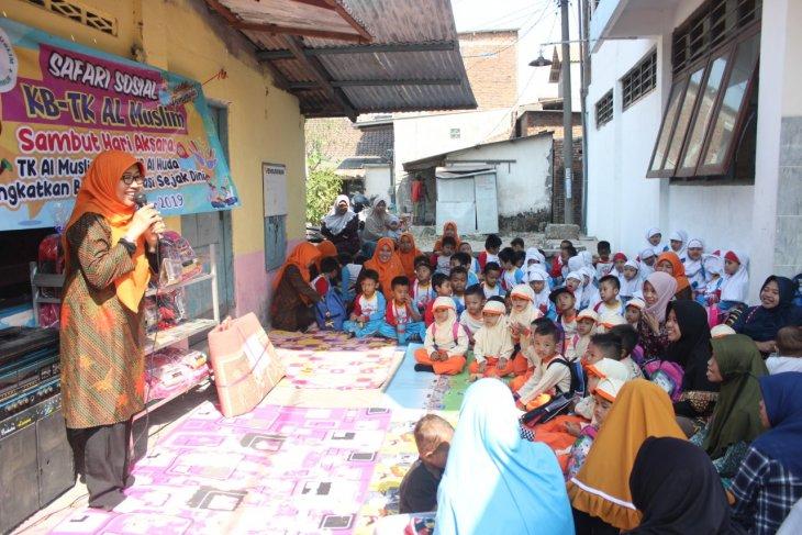 Siswa Al Muslim kampanyekan budaya literasi