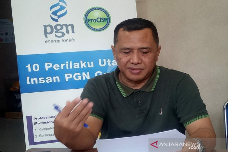 PGN siapkan program cicilan tagihan pelanggan jaringan gas di Sumut