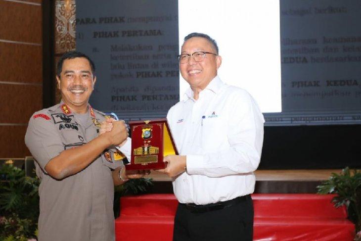 Polda Sumut- Inalum tanda tangani nota kesepahaman pengamanan