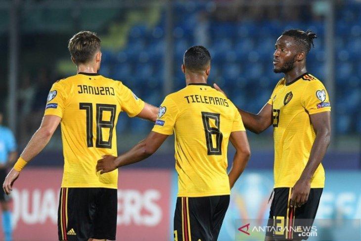 Belgia berpesta empat gol di San Marino