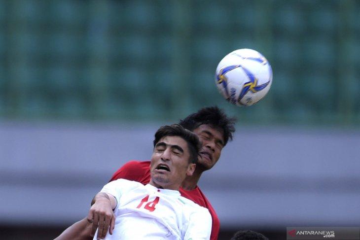 Dalam laga uji coba, Timnas U-19 Indonesia ditekuk Iran 4-2