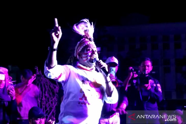Edo Kondologit: Saya anak Papua bagian dari bangsa Indonesia