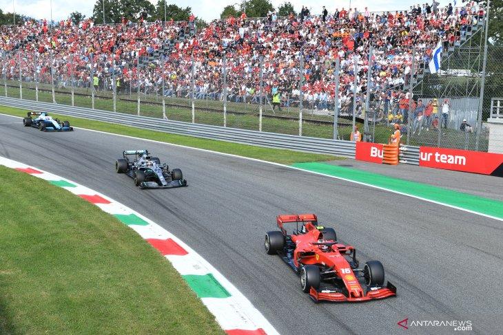 Statistik Grand Prix Italia akhir pekan