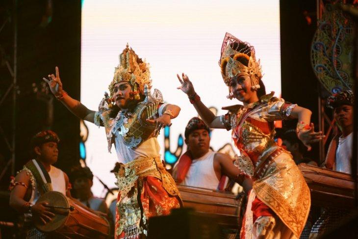 Suguhan kesenian khas Bali ramaikan