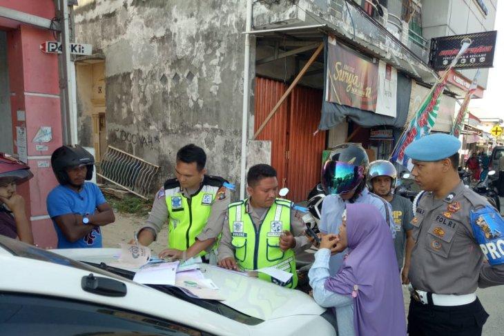 Satlantas Bangka Barat terbitkan 400 bukti pelanggaran lalu lintas