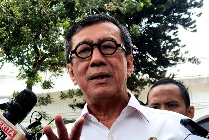 Law Minister meets Jokowi for discussion on KPK law revision draft