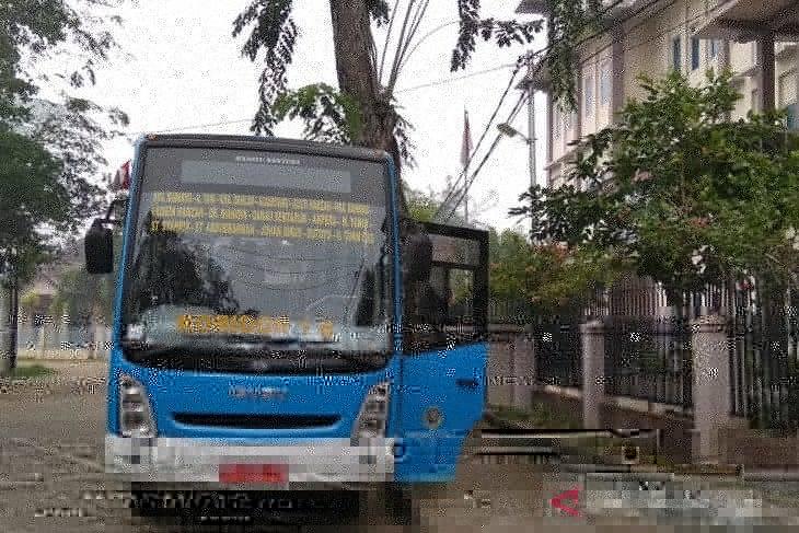 Bus Trans Pontianak solusi dalam mengatasi kemacetan di Pontianak
