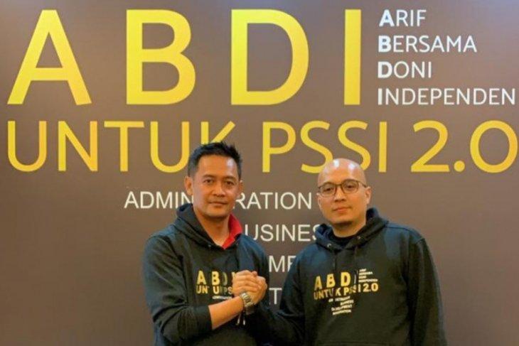 Dua CEO calonkan diri pimpin PSSI