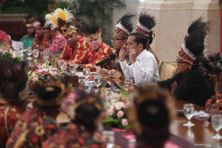Jokowi katakan Istana Presiden di Papua dibangun tahun depan