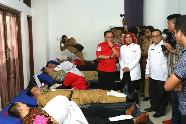 Pertama di Indonesia, 18 Lokasi di Banten Gelar Donor Darah Serentak