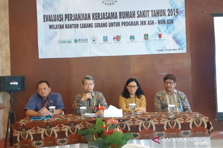 PT Taspen Serang evaluasi kerjasama delapan rumah sakit