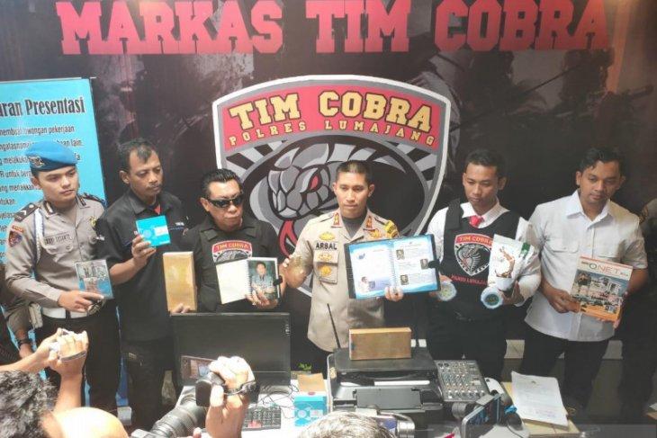 Tim Cobra Polres Lumajang bongkar bisnis