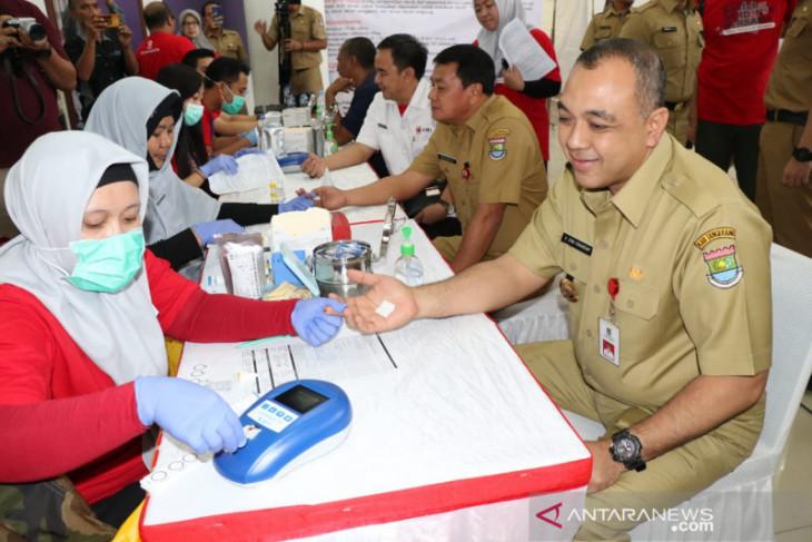 HUT PMI, Tangerang targetkan 1.000 kantong darah