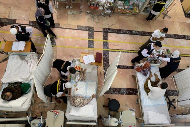 127 jamaah haji asal Indonesia masih dirawat karena sakit di Arab Saudi