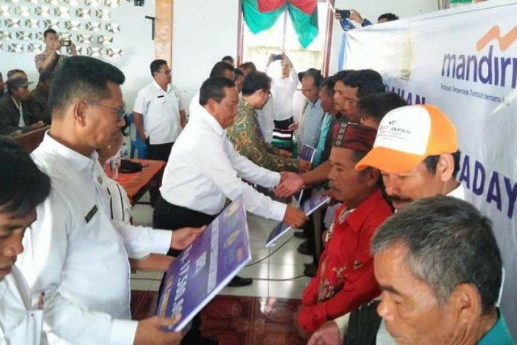 Pemkab Samosir salurkan bantuan perumahan stimulan swadaya Kementrian PUPR