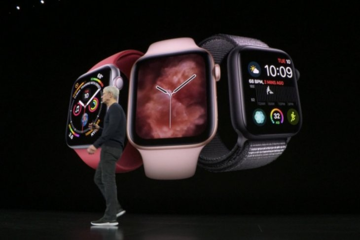 Apple Watch Series 5 dengan riset kesehatan