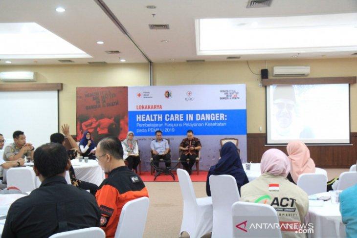 PMI didukung ICRC dan PDEI gelar lokakarya Health Care in Danger