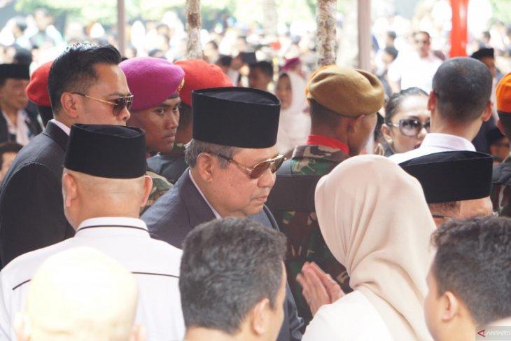 Megawati dan SBY hadiri pemakaman BJ Habibie