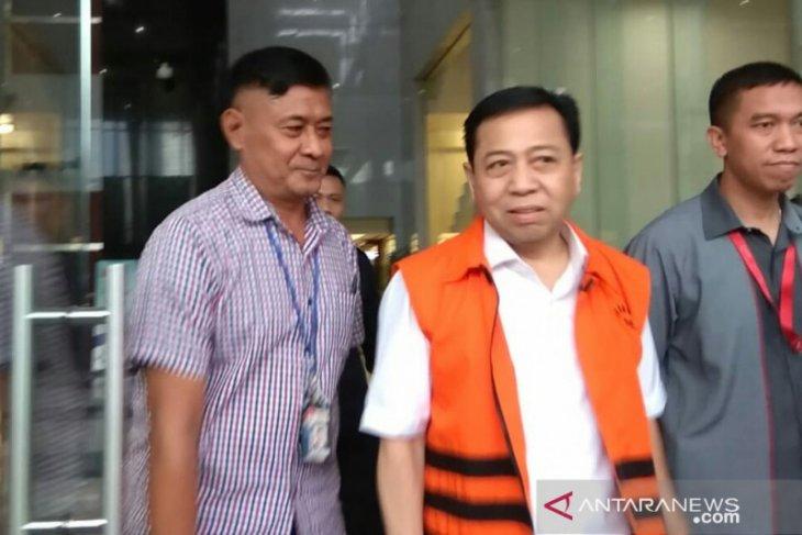 Setya Novanto  dipanggil KPK sebagai saksi kasus KTP-el