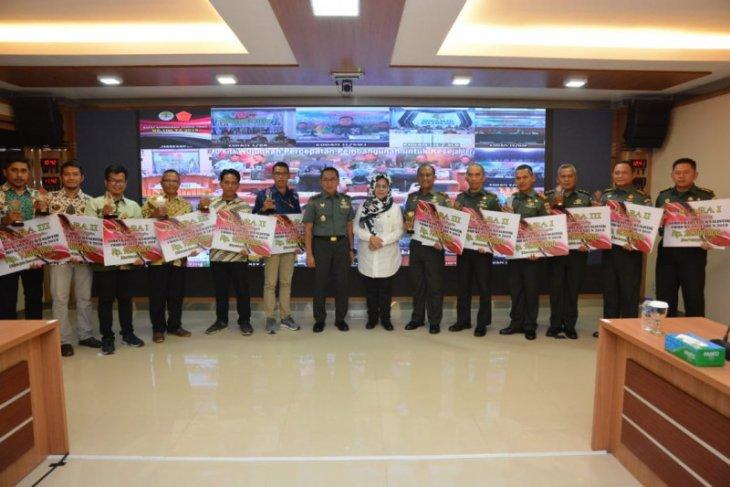 Pendam XII/Tpr sabet juara II lomba jurnalisik TMMD ke-105