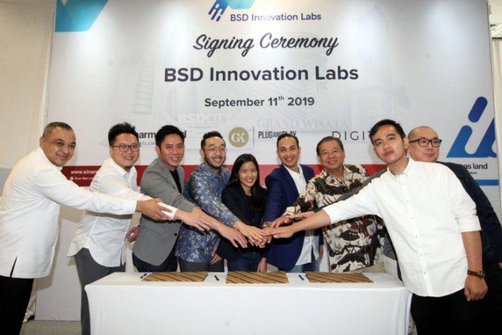 Gibran hadiri kerjasama perkembangan bisnis starup di BSD City