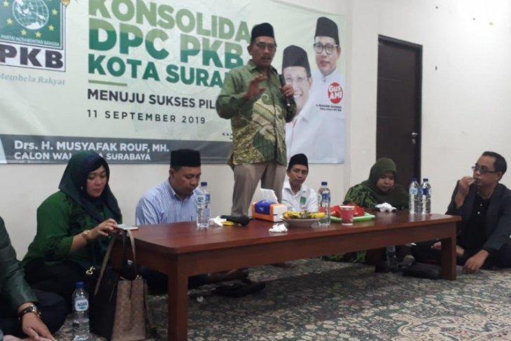 Musyafak siap dampingi Whisnu Sakti maju Pilkada Surabaya