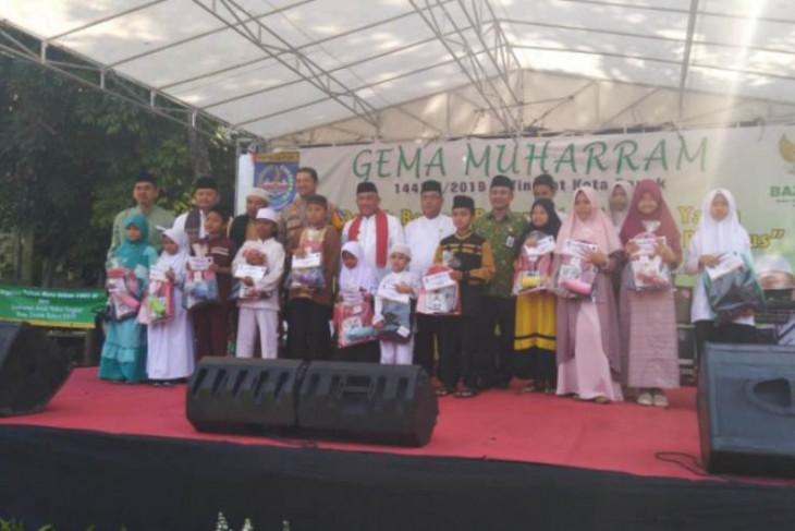 1.441 anak yatim dapat santunan dari Pemkot Depok