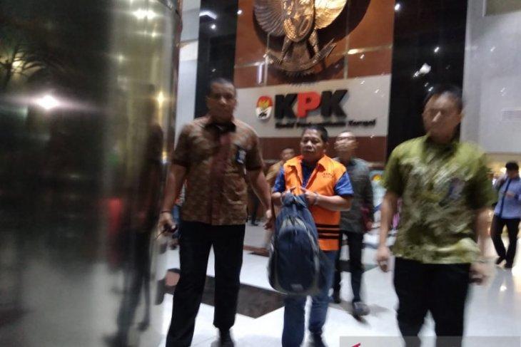 KPK telah tahan tiga tersangka suap proyek Pemkab Bengkayang