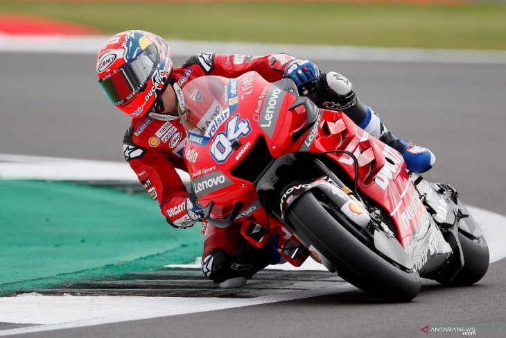 Pebalap Ducati Andrea Dovizioso patah tulang selangka ketika berlatih motocross