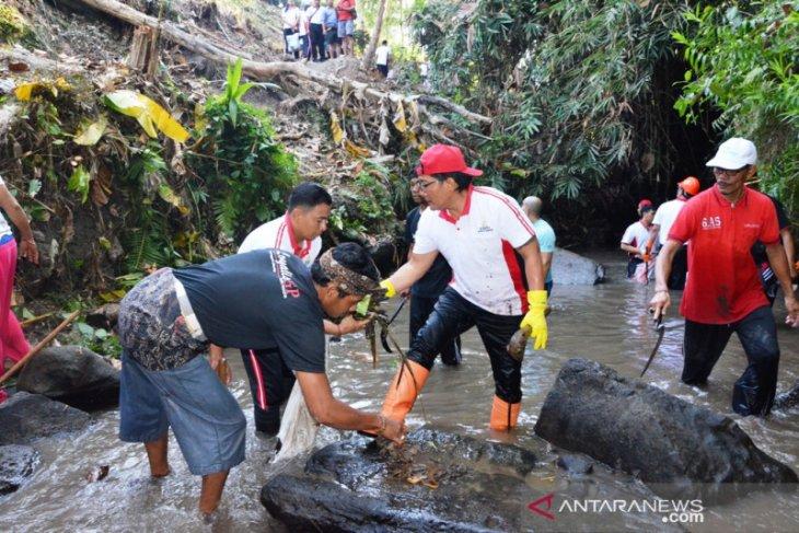 12,5 ton sampah dikumpulkan Gertak Badung Bersih