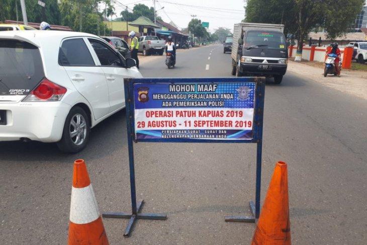 Polresta Ketapang tilang 1.564 pengendara bermotor sepanjang Operasi Patuh Kapuas