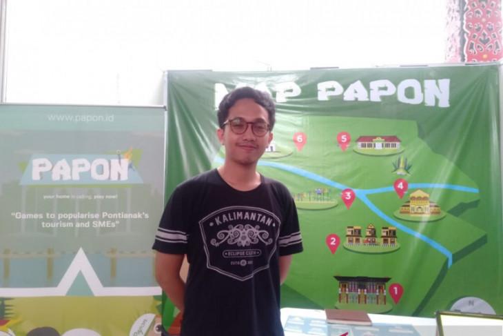 PAPON, aplikasi games yang kenalkan pariwisata dan UMKM Pontianak
