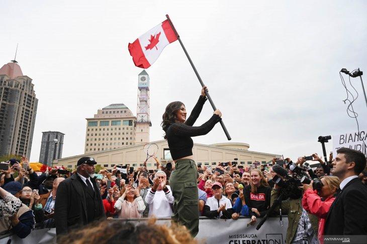 Petenis Bianca Andreescu atlet terbaik Kanada 2019
