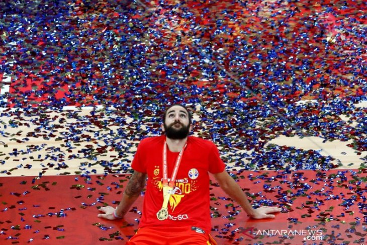 Ricky Rubio jadi MVP Piala Dunia FIBA